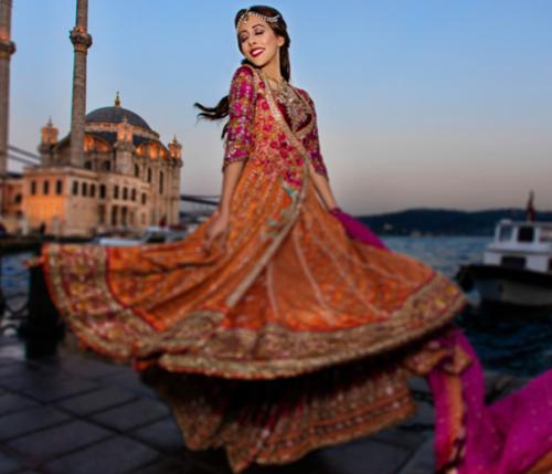 Farah Talib Aziz latest bridal collection