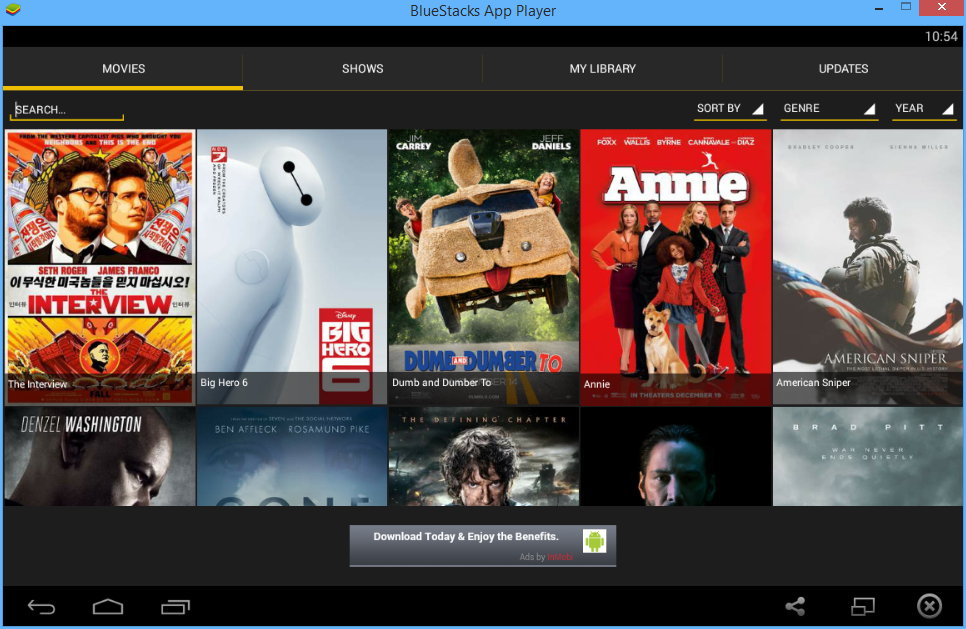 showbox movie download format