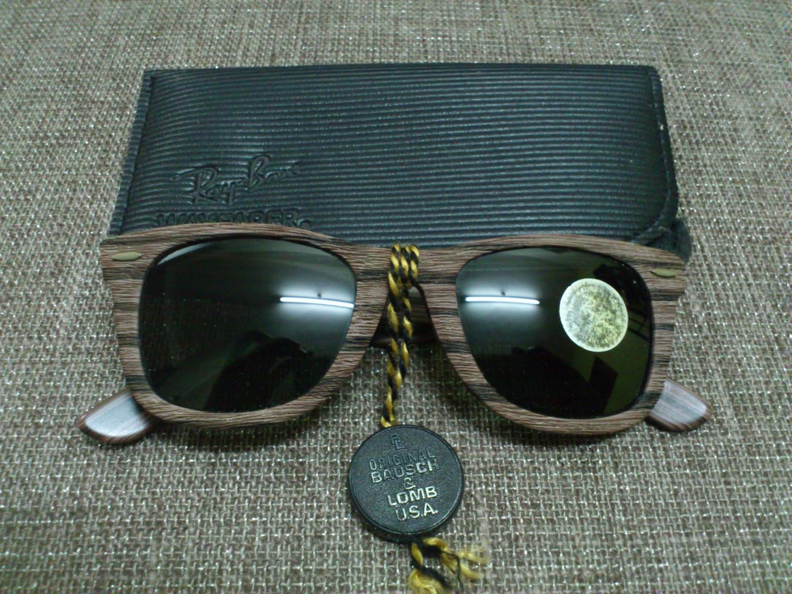 4f0600b1a4 Vintage Bausch   Lomb Rayban Sunglasses  (SOLD)NOS Ray Ban Wayfarer ...