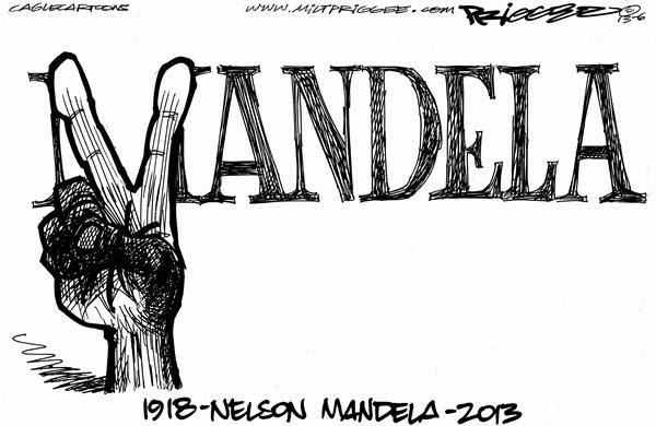 LA BITACORA DE MANECO: NELSON MANDELA (1918-2013): UN