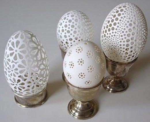 hasil kerajinan tangan kulit telur