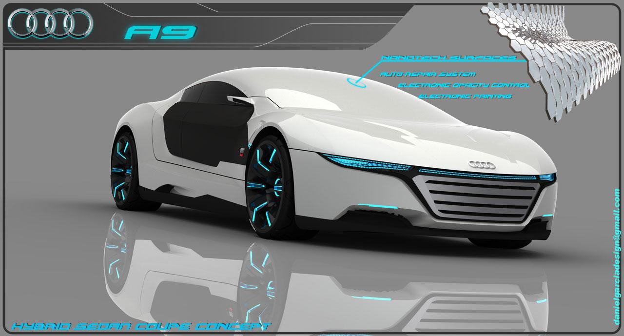 Audi A9 Concept Car Muddlex