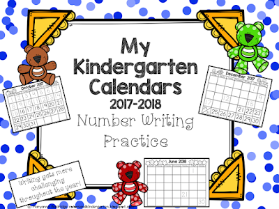 https://www.teacherspayteachers.com/Product/My-Kindergarten-Calendars-Number-Writing-Practice-3346167