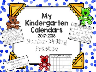 https://www.teacherspayteachers.com/Product/My-Kindergarten-Calendars-Number-Writing-Practice-3346167