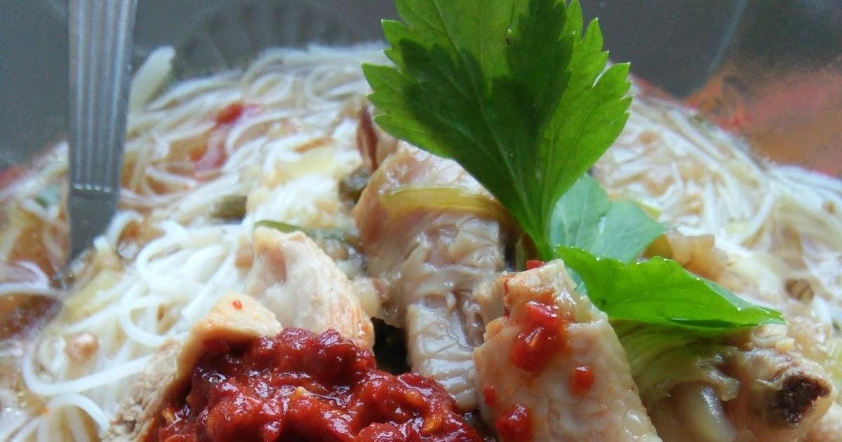 resepi  ayam bunjut sedap sma jaten Resepi Sup Kaki Ayam Ala Thai Enak dan Mudah
