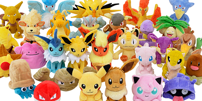Everyone is Here! New Gen 1 Plushies Have Arrived!