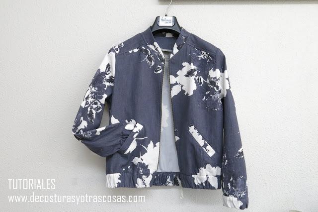 tutorial chaqueta sin forrar
