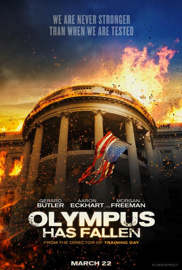 ตัวอย่างหนังใหม่ :  Olympus Has Fallen ซับไทย (ผ่าวิกฤติวินาศกรรมทำเนียบขาว) Poster