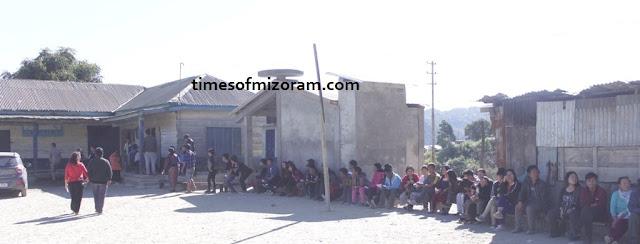 Voting Polling booth Mizoram