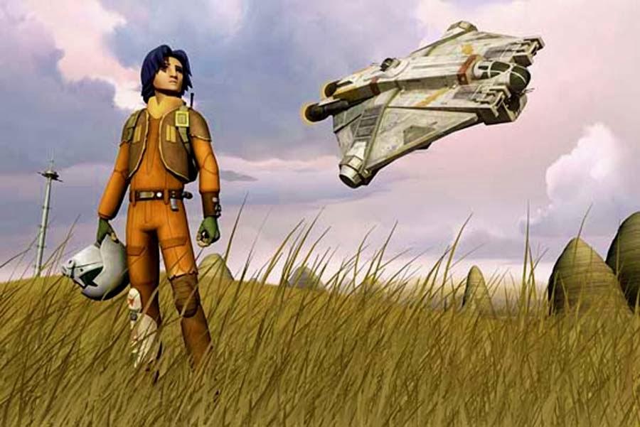 STAR WARS REBELS: Fă Cunoştinţă Cu Noul Recruit Al Rebelilor, EZRA