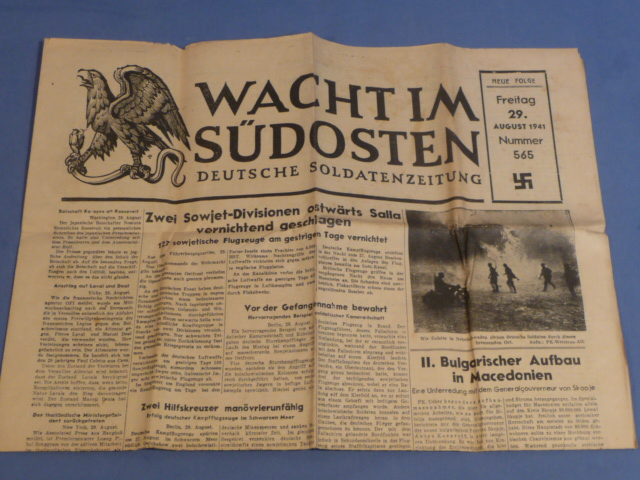 Wacht Im Sudosten, 29 August 1941 worldwartwo.filminspector.com