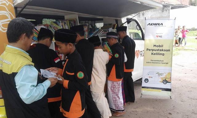 Moju Peringati Hari Buku di Majlis Ta'lim Nurul Hikmah