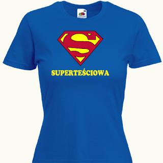 koszulka super teściowa
