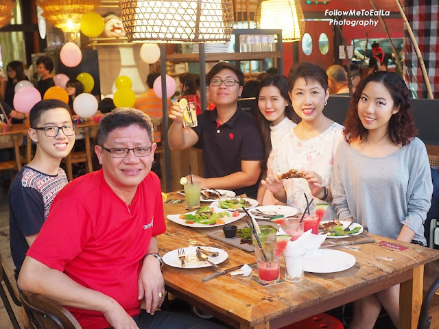 Naughty Nuri's Porky Balinese Restaurant With Killer Ribs & Twisted Martinis At Subang SS15 Courtyard