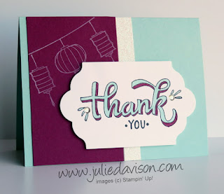 Stampin' Up! Color Me Happy Card Kit ~ www.juliedavison.com