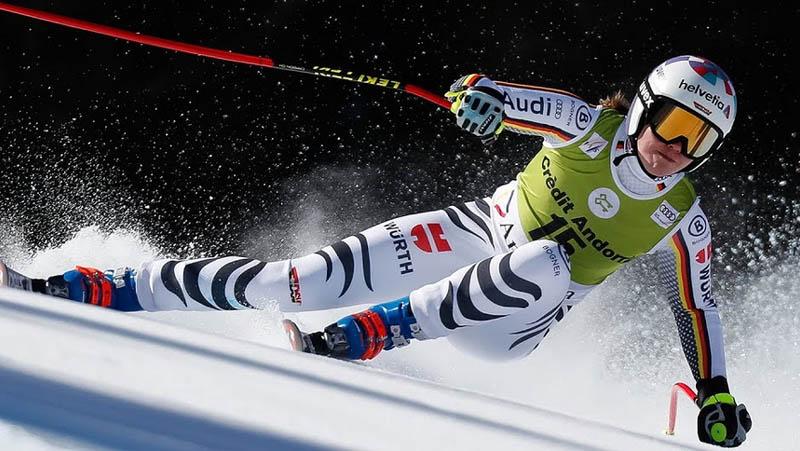 Viktoria Rebensburg Super-G - Andorra