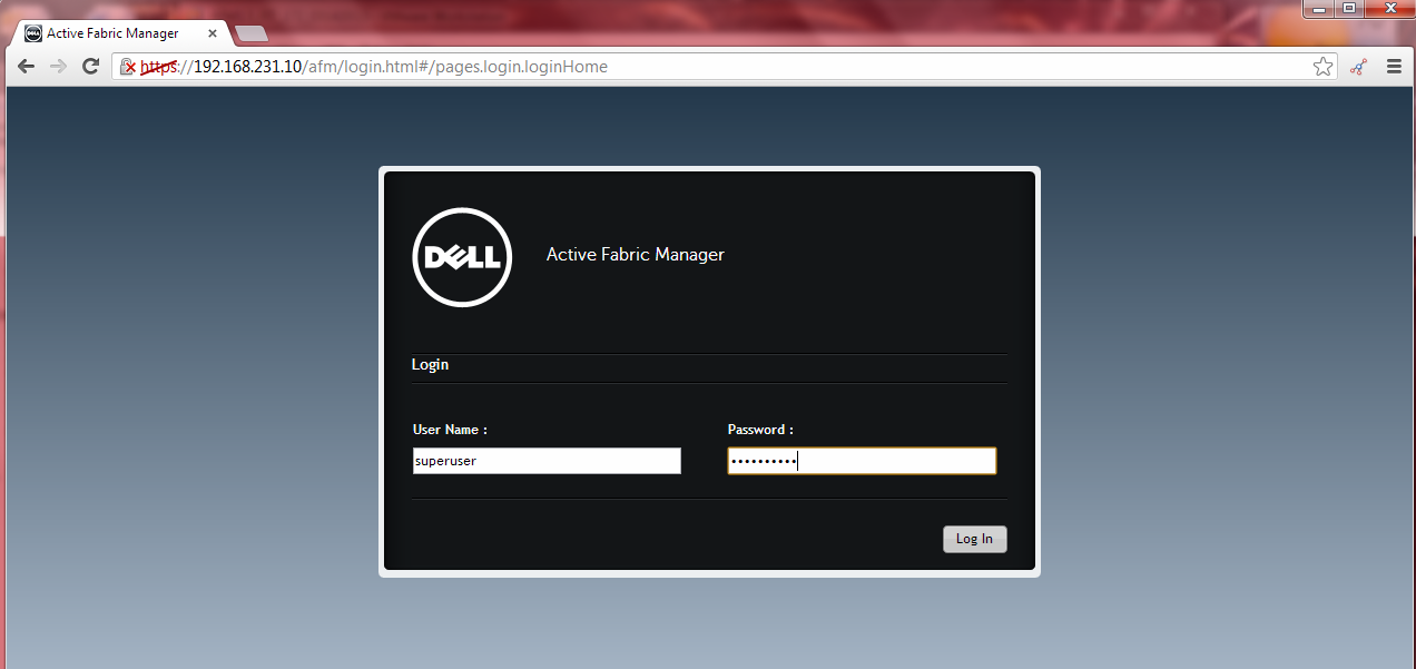 Techon9 Technical Online Dell Active Fabric Manager