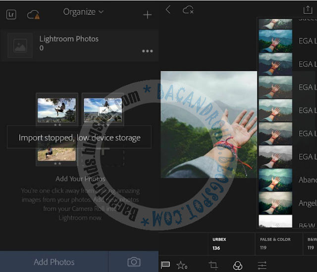Download Adobe Photoshop Lightroom Mod Preset Terbaru For Android