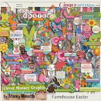 Kit : Farmhouse Easter by Clever Monkey Graphics