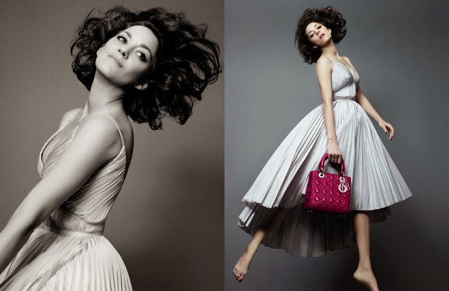 Dior's New Fall/Winter 2014 Lady Dior Ad Campaign Starring Marion Cotillard