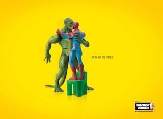 اعلانات لشركة فانتسي وورلد Fantasy World للعيد