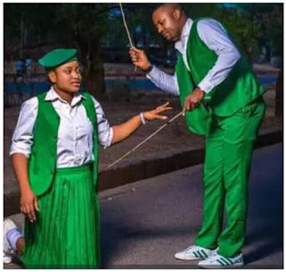 Wao! Check Out This Trending Student And Teacher Inspired Pre-Wedding Photos
