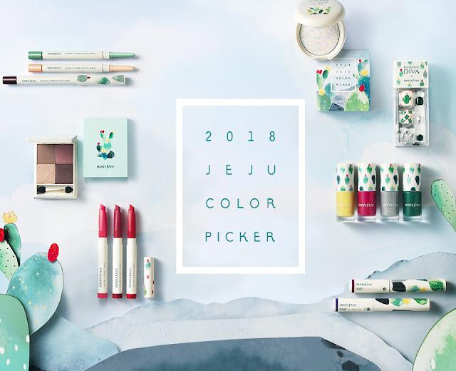 (K-Beauty) Jeju Color Picker : Quand Innisfree se met au vert.