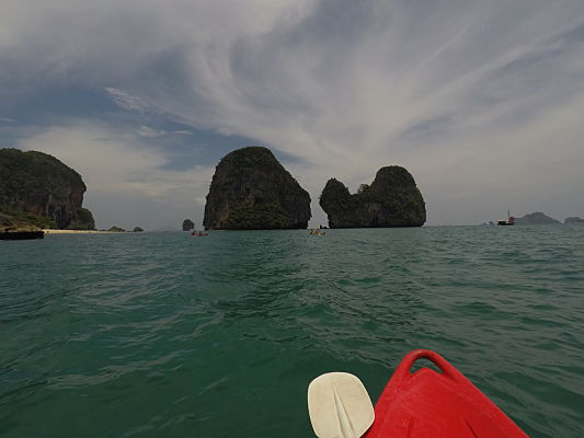 kayak railay beach