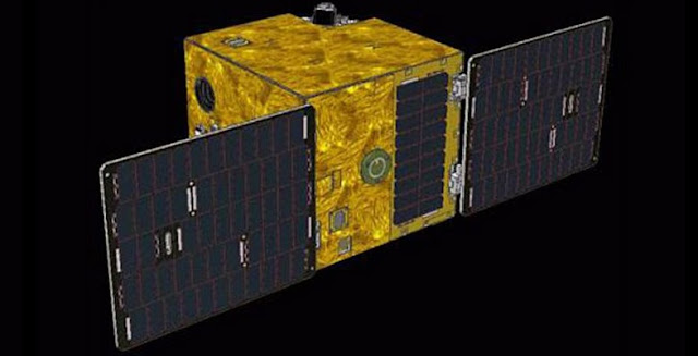 Artist's rendering of the SOCRATES satellite. Image Credit: AES