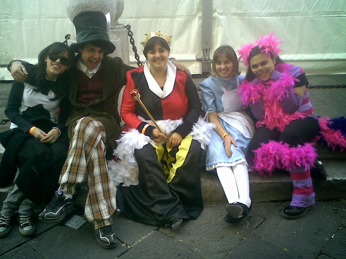 LuccaComics 2009 - Alice nel paese delle meraviglie - 2 di picche