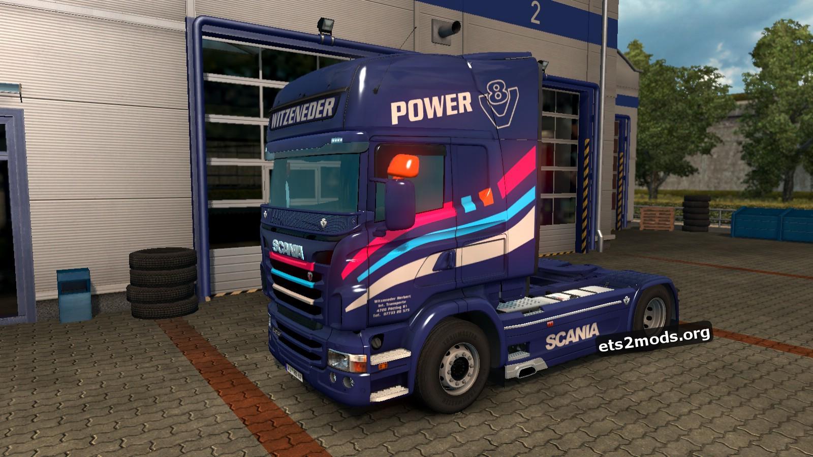 Witzeneder Skin for Scania RJL