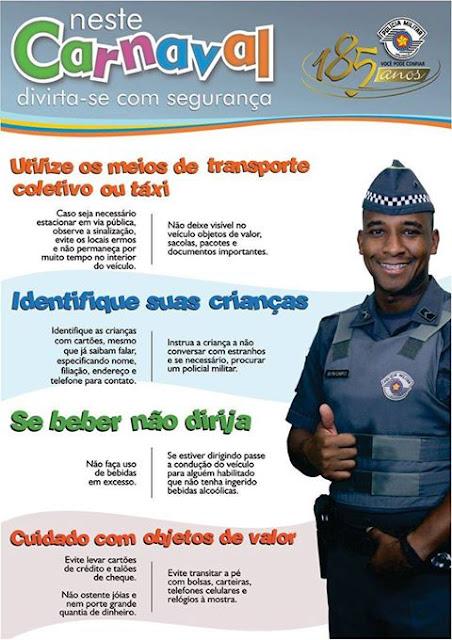 OPERAÇÃO CARNAVAL NO VALE DO RIBEIRA