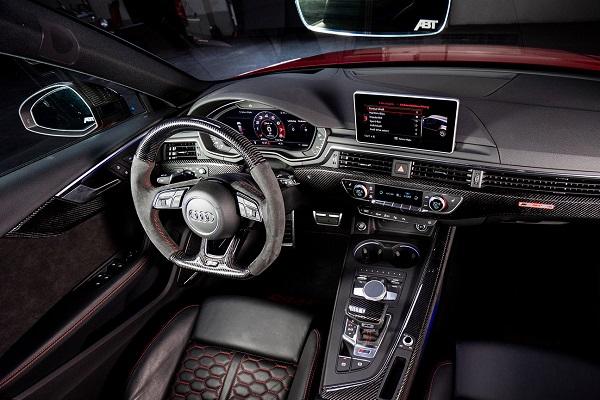 ABT Audi RS4+ 2019 Interior
