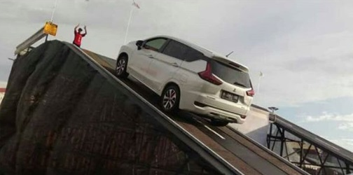 Test Mitsubishi Xpander Traction Control dan Hill Start Assist