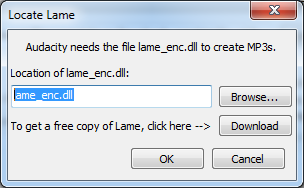 Download file lame_enc dll audacity.