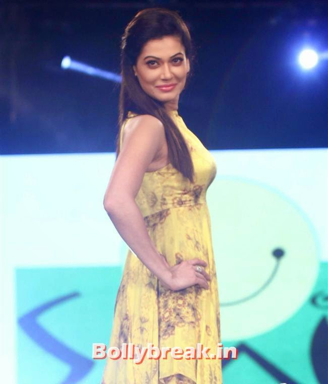 Payal Rohatgi, Celebs Sizzle in Ramp at Charity Fashion Show of Smile Foundation