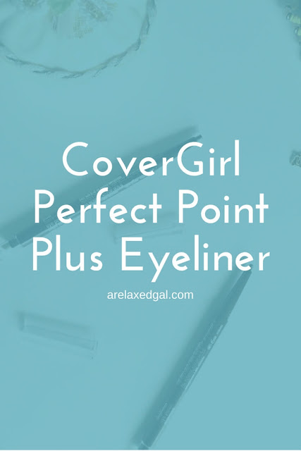 A review of the CoverGirl Perfect Point Plus Eyeliner. | arelaxedgal.com