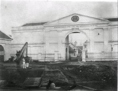 Sejarah Kota Surabaya, Tembok Kota Surabaya 1857