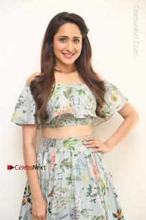 Actress Pragya Jaiswal Stills in Floral Dress at turodu Interview  0101.JPG