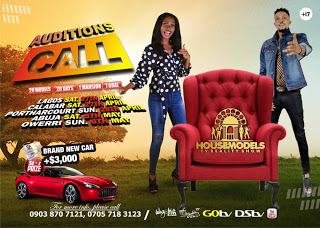 HOUSE OF MODELS REALITY TV SHOW AUDITION CALLS 2019