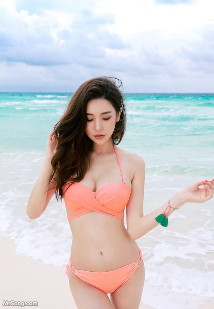 Image Park-Da-Hyun-Hot-collection-06-2017-MrCong.com-015 in post Người đẹp Park Da Hyun trong bộ ảnh thời trang biển tháng 6/2017 (225 ảnh)