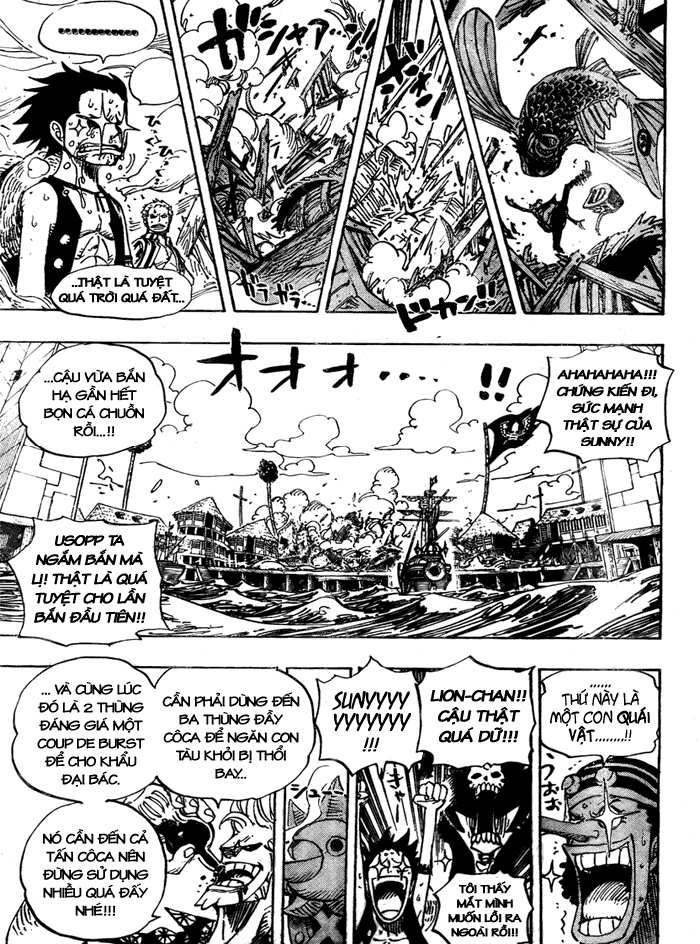 One Piece Chap 495