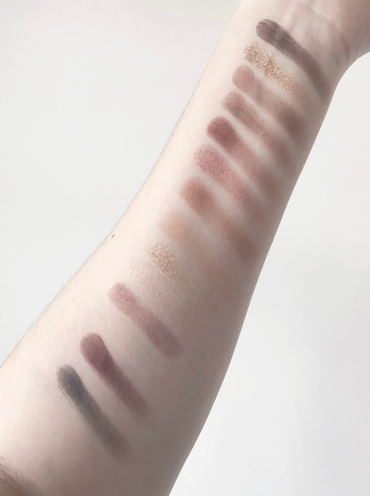 Anastasia Beverly Hills Soft Glam Eyeshadow Palette Swatches