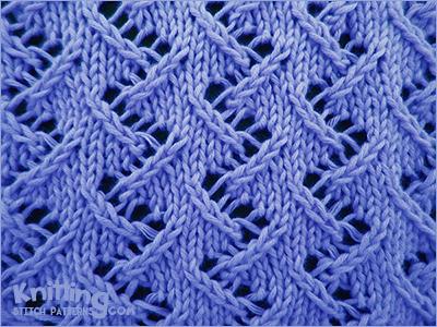 Zig Zag Lace #2 - Knitting Stitch Patterns