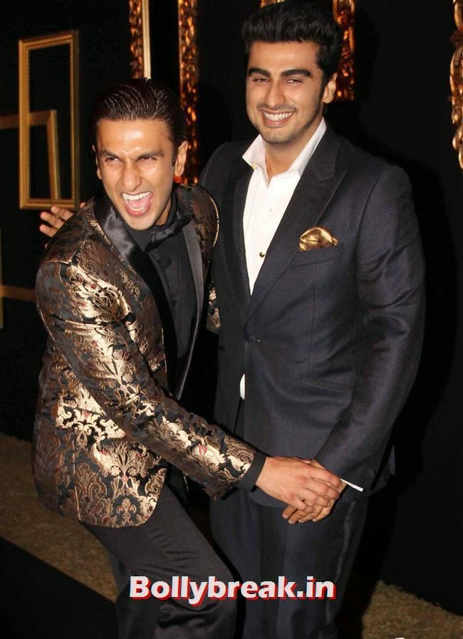 Ranveer Singh and Arjun Kapoor, All Bollywood Celebs at Deepika Padukone Golden Party