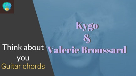 THINK ABOUT YOU Guitar Chords with Lyrics ACCURATE | KYGO