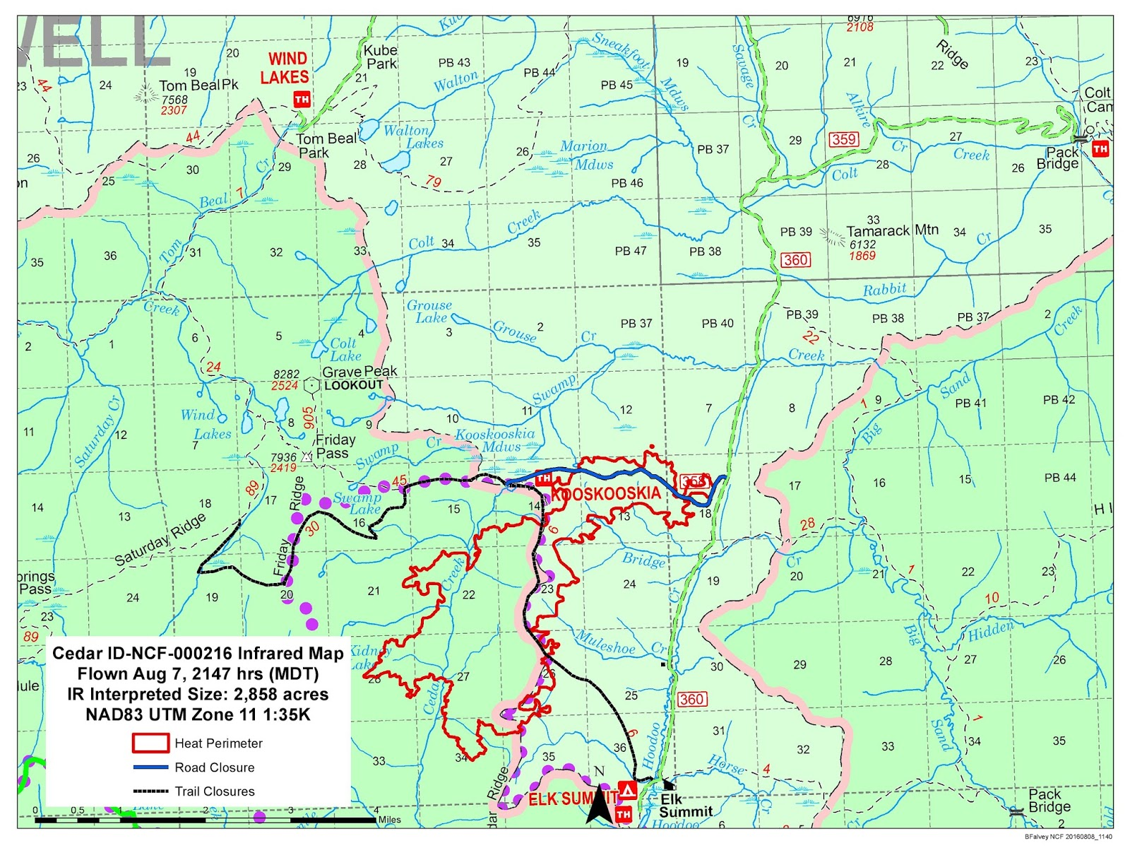 Idaho Fire Information Weekend Weather Slows Fire Activity On - Cedar fire map