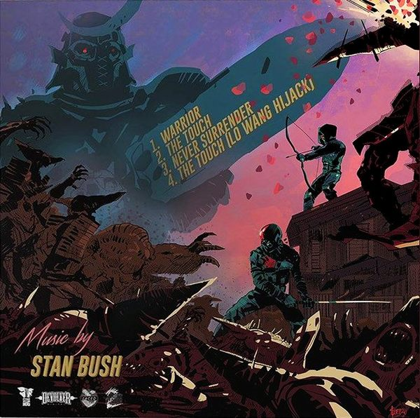 STAN BUSH - SHADOW WARRIOR 2 Collector's Edition Soundtrack (2016) back