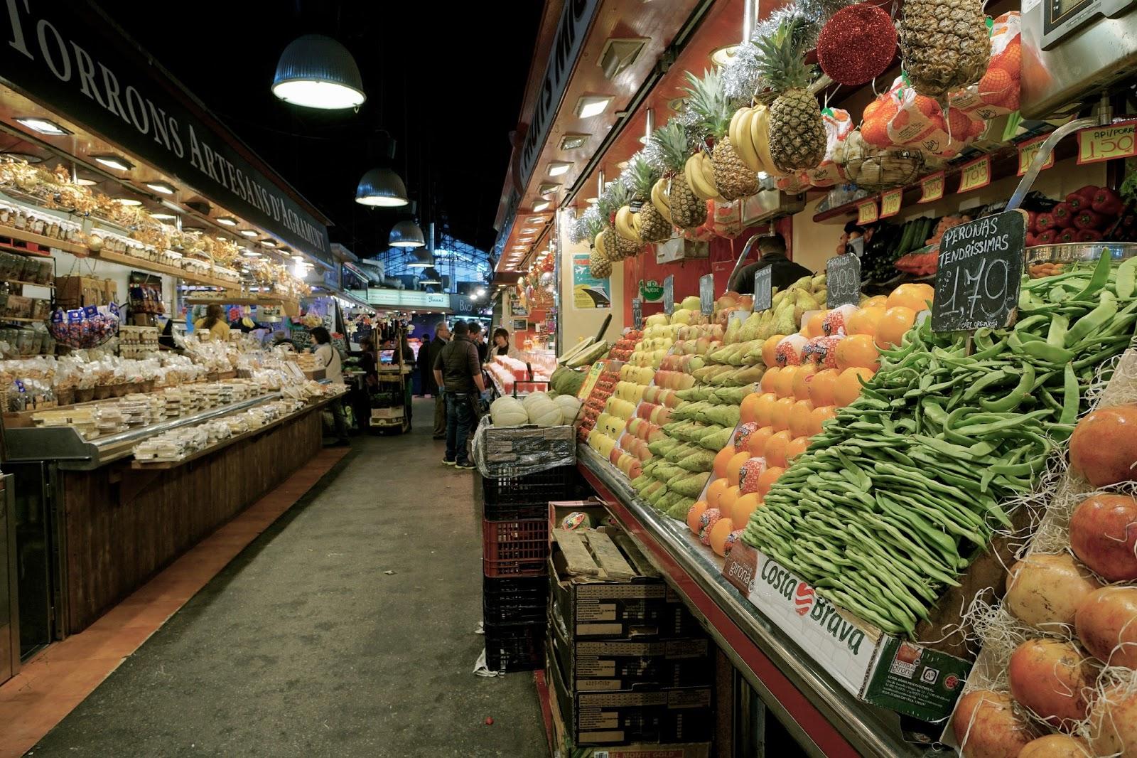 ボケリア市場 =サン・ジュゼップ市場(Mercat de Sant Josep)