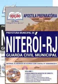 Apostila concurso GCM de Niterói - Guarda Municipal
